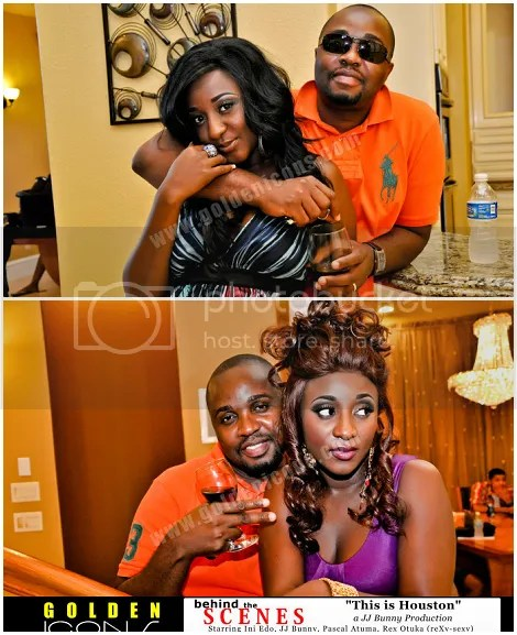 Ini Edo and her husband Phillip Ehiagwina
