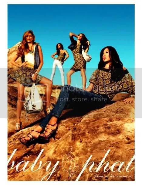 BABY PHAT SPRING SUMMER 2010 AD CAMPAIGNS