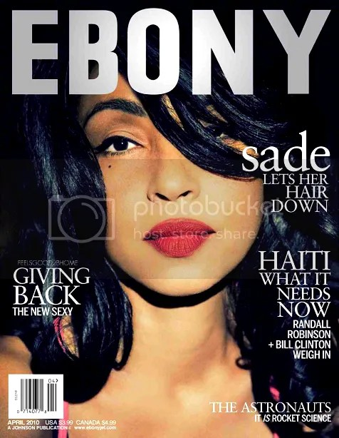 Sade Ebony April 2010