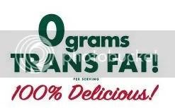 0 Grams Trans Fat