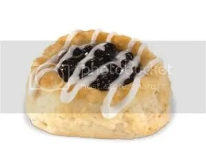 Hardee's Blueberry Biscuit