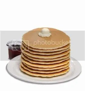 Stack 'em high: Denny's now offers unlimited refills of French fries and pancakes, two of America's favorites.