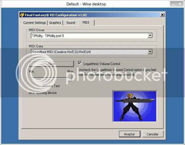 FF7Config - MIDI