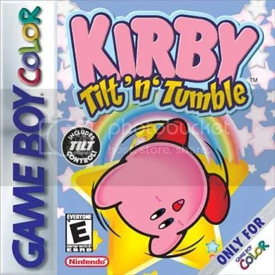 Pink box. Pink cart. Top 10 GameBoy Color games for 3DS Virtual Console eShop Top 10 GameBoy Color games for 3DS Virtual Console eShop KirbyTiltBox