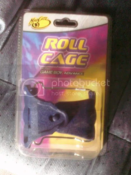 the packaging doesn't say much about the product GBA Roll Cage - Dumbest Accessory Ever...? GBA Roll Cage – Dumbest Accessory Ever…? RollCagePackaging