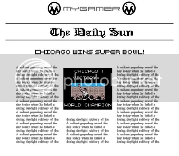 MyGamer Daily Sun - Tecmo Bowl MyGamer Daily Sun - Sports Edition: Tecmo Bowl MyGamer Daily Sun – Sports Edition: Tecmo Bowl TecmoBowlNewspaper