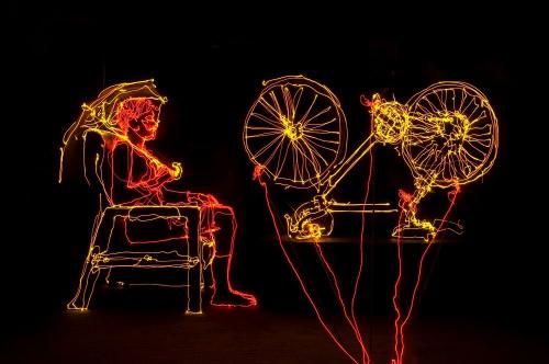 Brian Hart Light Drawing Bicycles