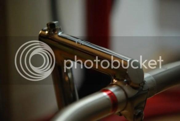vintage cinelli track stem