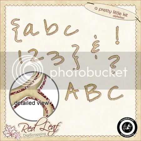A Pretty Little Kit Alphabet