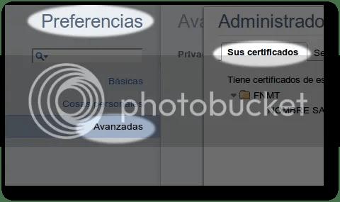 gestión de certificados digitales en los navegadores