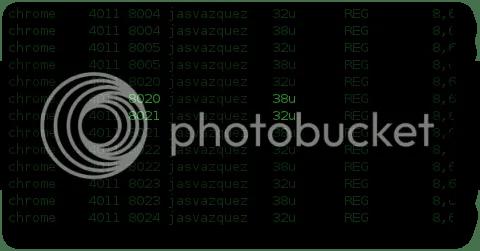 identificar los ficheros abiertos por un proceso en linux