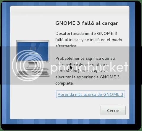 login fail en gnome3