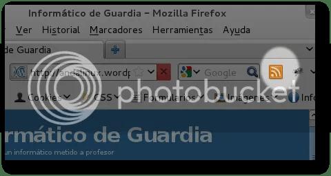 recuperar el icono feed rss en mozilla firefox 4