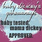 Baby Dickey's Giveaways blog
