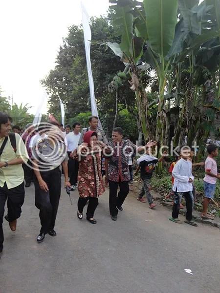Desa Bahasa Menyambut Ibu Menteri BUMN Nafsiah Dahlan