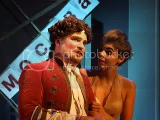 David Ralf and Cassie Barraclough in The Master and Margarita