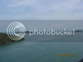 pulau2 sekitar jembatan
