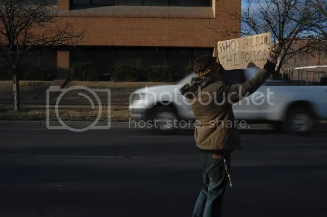 GJPD,Protest,Grand Junction,Brent Ingram