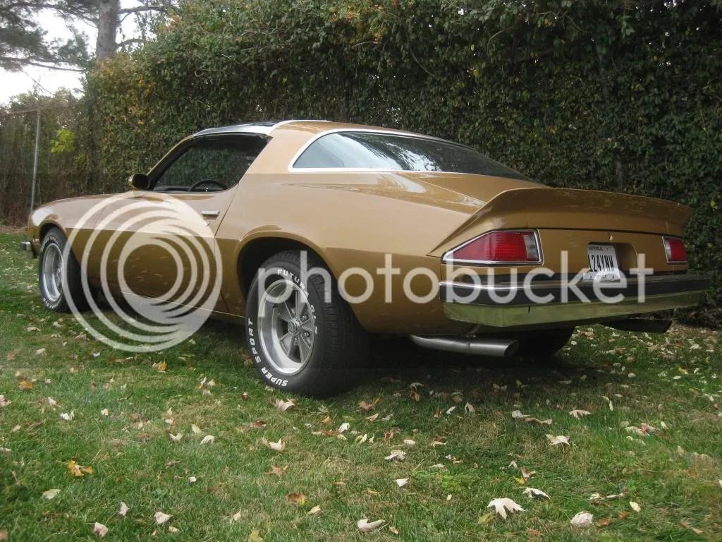 1977 Pontiac Rims Am Trans Stock