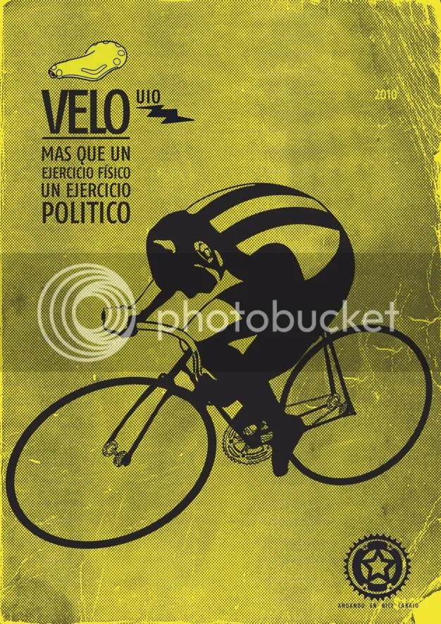 andando en bici carajo, ilustración: luis herrera r.
