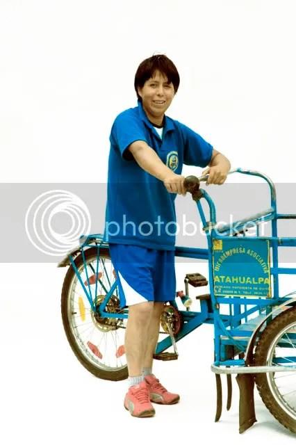 andando en bici carajo