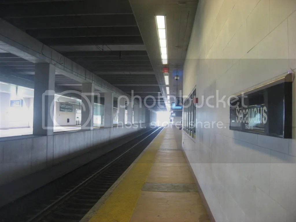 track B at Secaucus Junction
