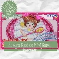 Card Captor Sakura - Sakura Card de Mini Game