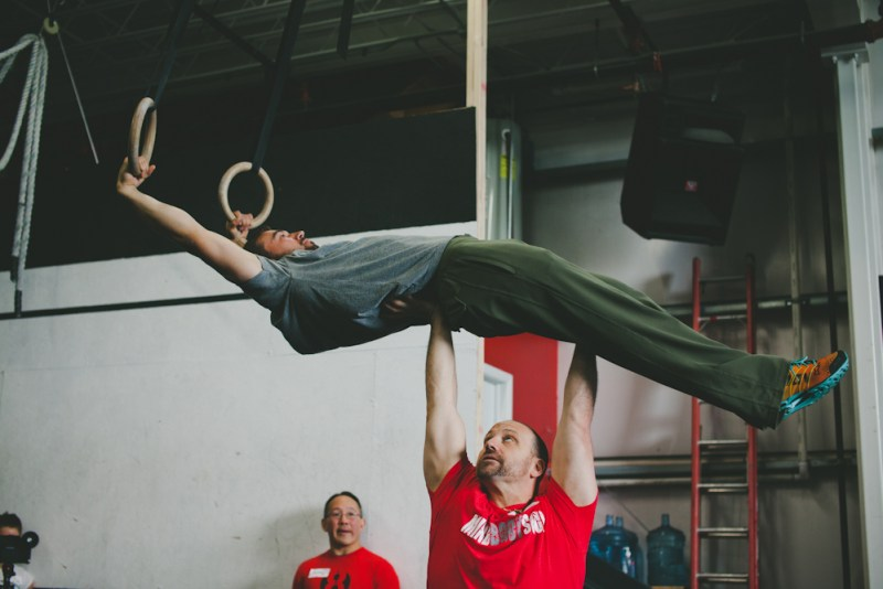 Gymnastic training in Colorado