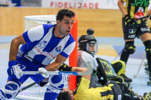De regresso ao FC Porto, Reinaldo Garcia foi um dos melhores em jogo