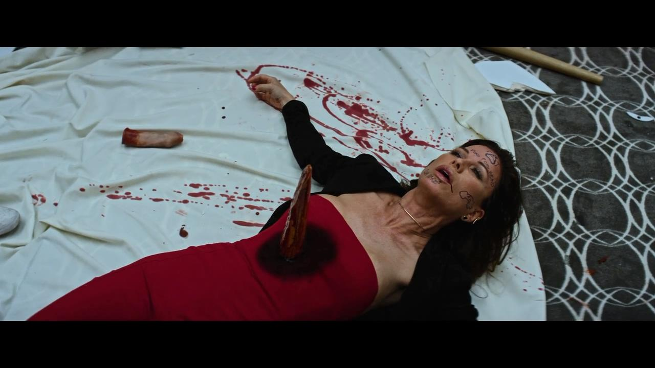 Rhona Mitra in Game Over, Man! (2018)
