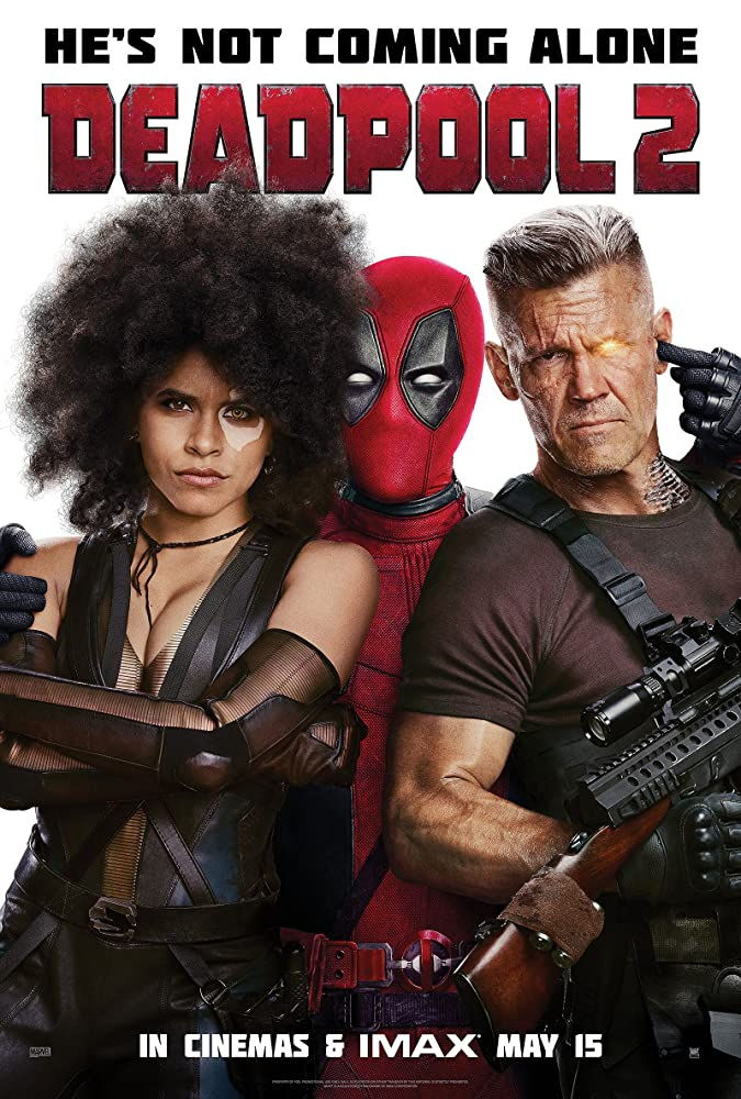 Josh Brolin, Ryan Reynolds, and Zazie Beetz in Deadpool 2 (2018)