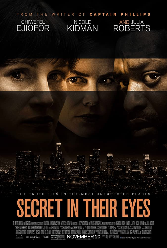 Nicole Kidman, Julia Roberts, and Chiwetel Ejiofor in Secret in Their Eyes (2015)