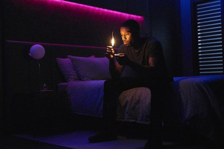 Michael B. Jordan in Fahrenheit 451 (2018)