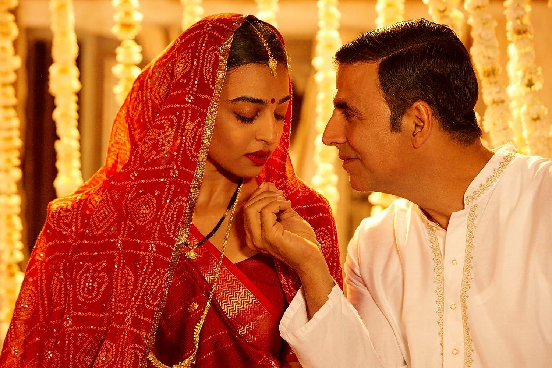 Akshay Kumar and Radhika Apte in Padman (2018)