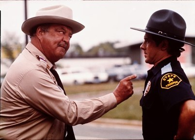Jackie Gleason and Alfie Wise in Smokey and the Bandit (1977)