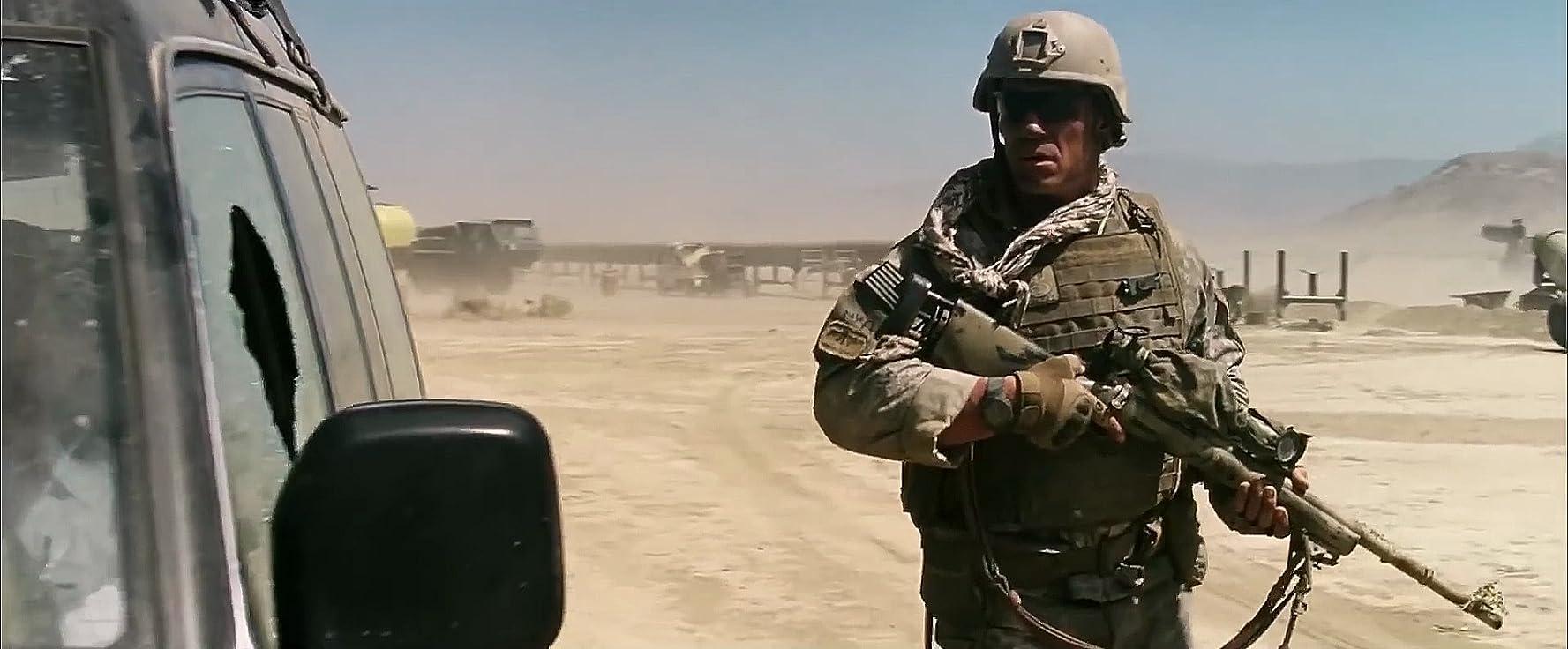 John Cena in The Wall (2017)