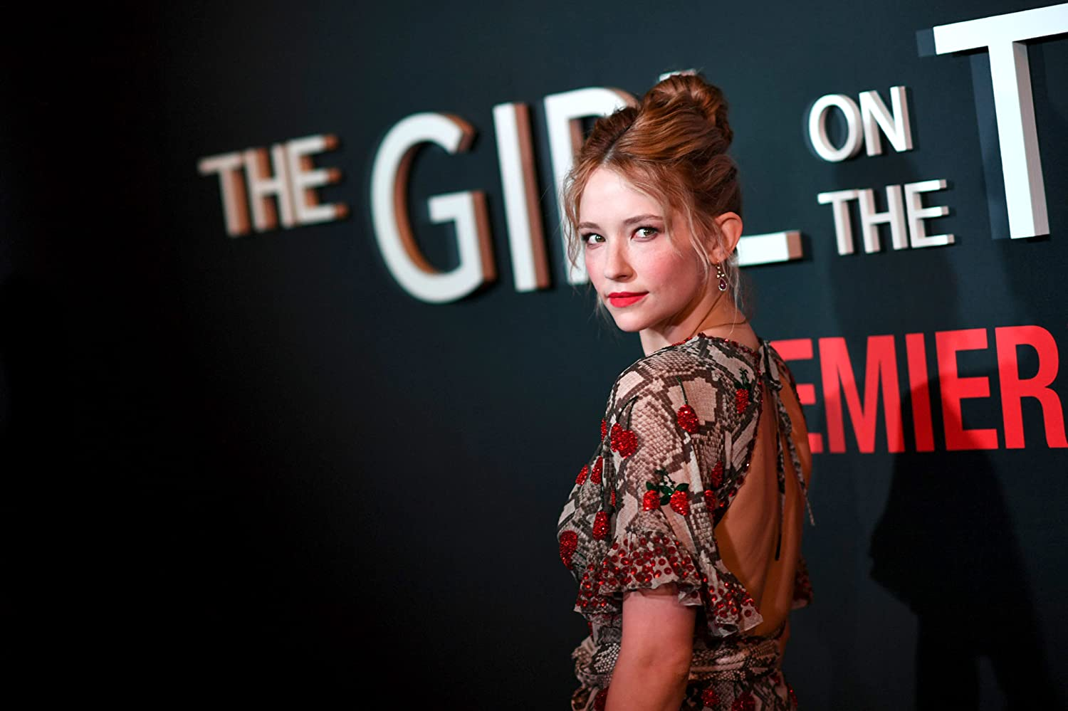 Haley Bennett at an event for The Girl on the Train (2016)