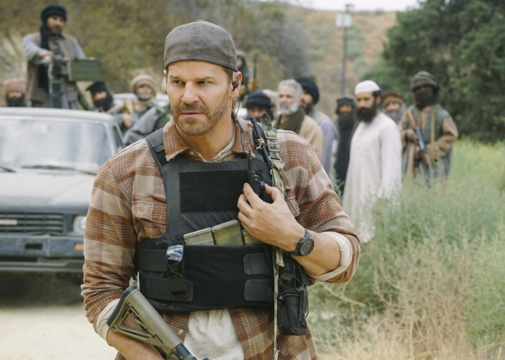 David Boreanaz in SEAL Team (2017)