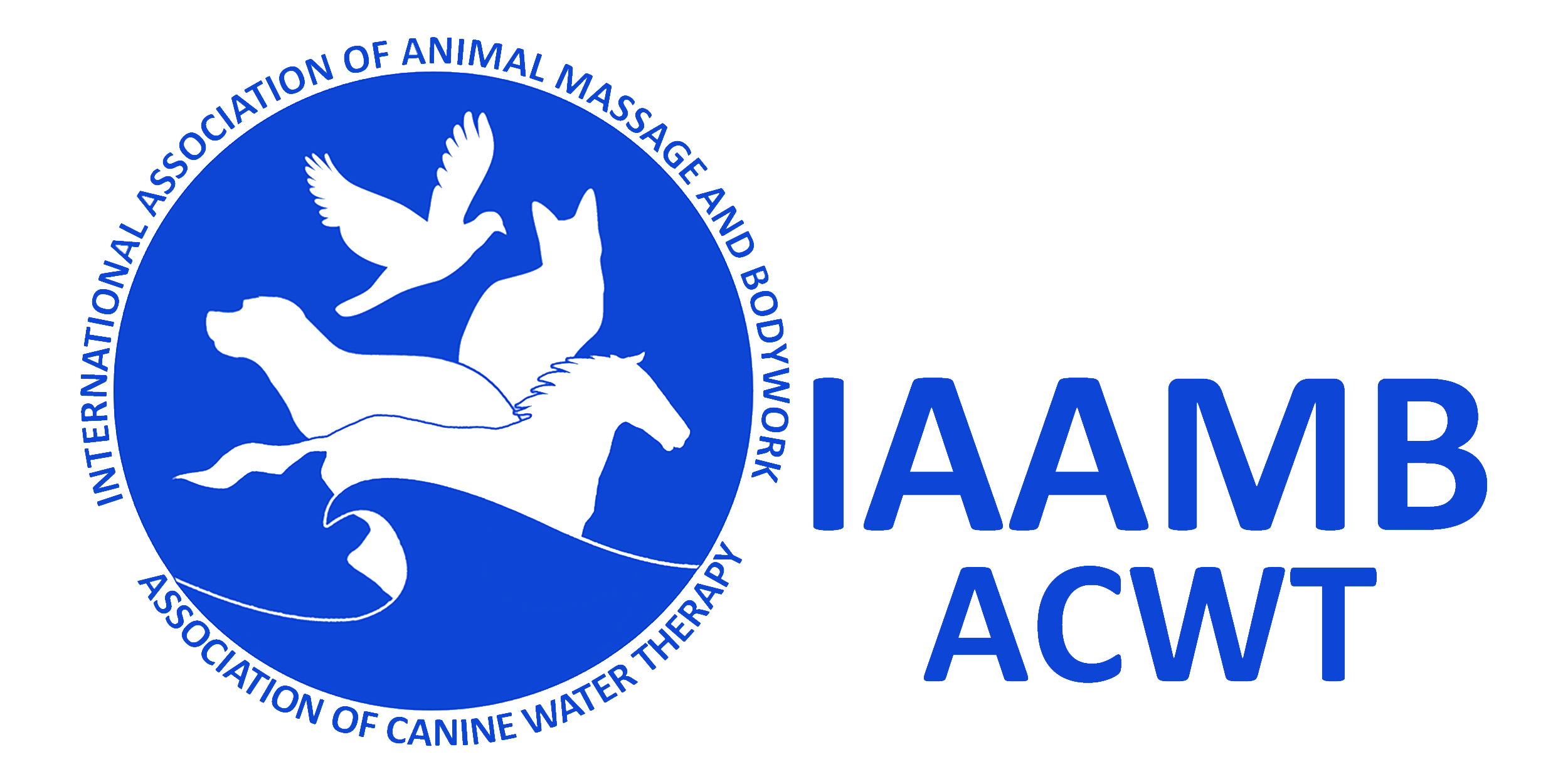 International Association of Animal Massage & Bodywork / Association of Canine Water Therapy Logo