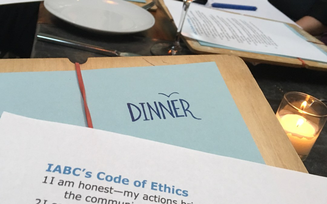 Event Recap: Nine & Dine Discussion About Ethics in the Age of Alternative Facts