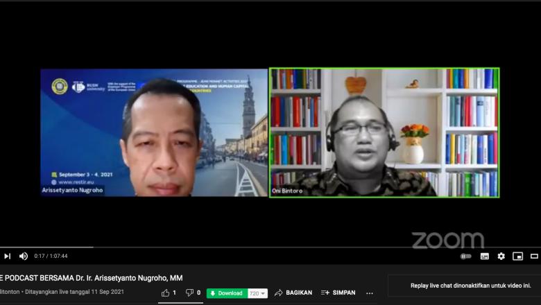 IABIE Podcast: Dr. Ir. Arissetyanto Nugroho, M.M.