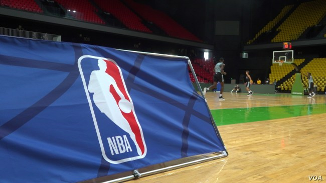 The NBA sponsors the Basketball Without Borders program each year to scout and train up and coming basketball players on the con