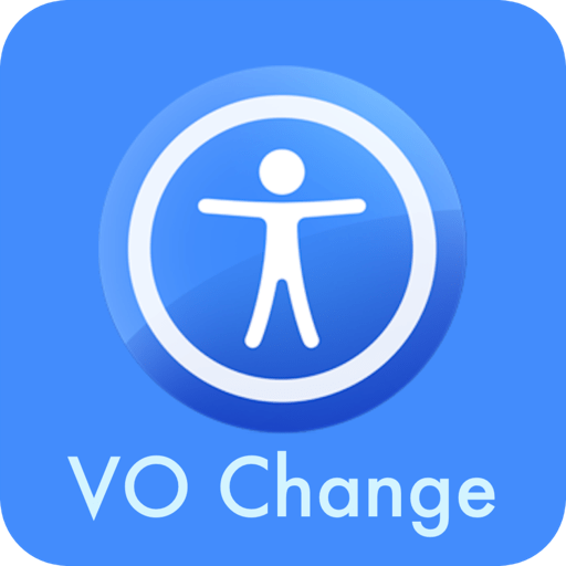 App icon for VO Change