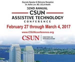 CSUN AT Conference Feb 27 -March 4 2017