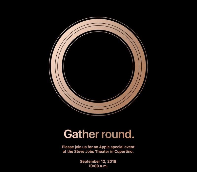 September 2018 iPhone Event Invite