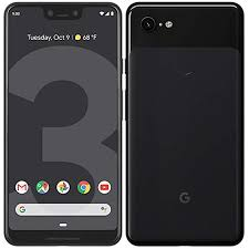 Picture of front and back of Pixel 3