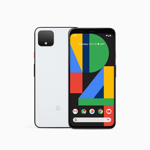 Pixel 4 front and back