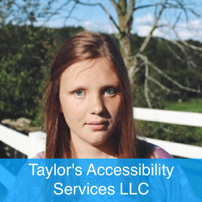 Taylor's accessibility Services Logo