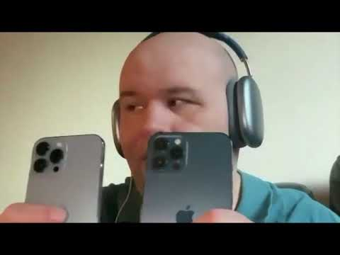 Iphone 13 Pro Max Vs Iphone 12 pro max unboxing And Review