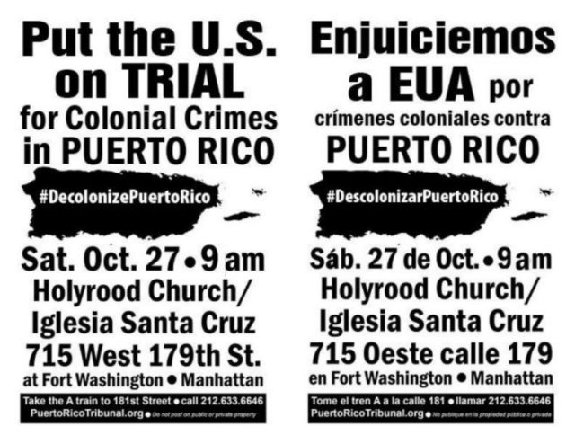 PUERTO RICO: Strengthen the struggle Oct  27